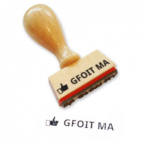 Stempel 'Gfoit ma'