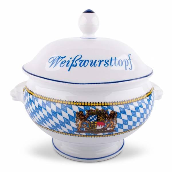"""Weißwursttopf """"Löwenkopf"""""""