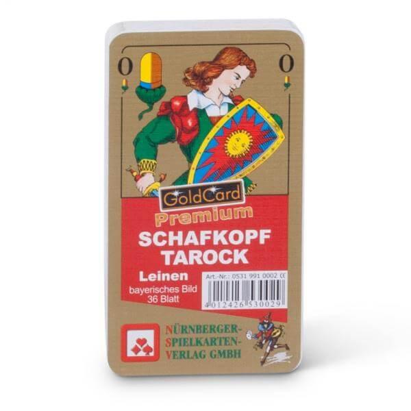 Schafkopf Karten PREMIUM Leinen