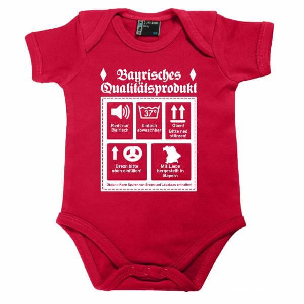 """Baby Body """"Bayrisches Qualitätsprodukt"""" sorbet"""