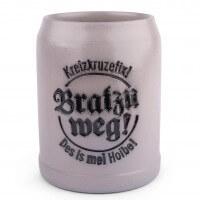 "Steinkrug ""Bratzn weg!"""