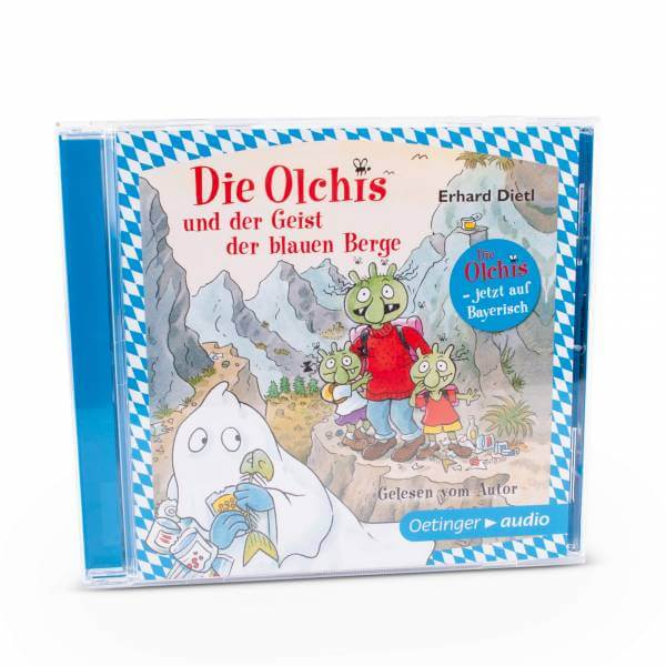 """Hörbuch-CD """"Die Olchis und der Geist der blauen Berge"""""""