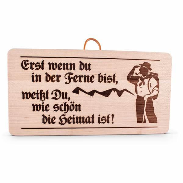 """Holzschild """"Heimat"""""""