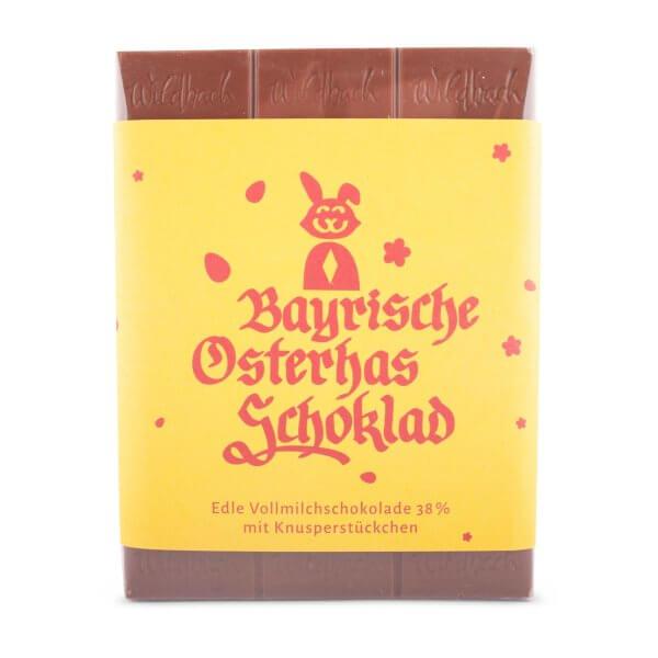 Bayrische Osterhas Schokolad